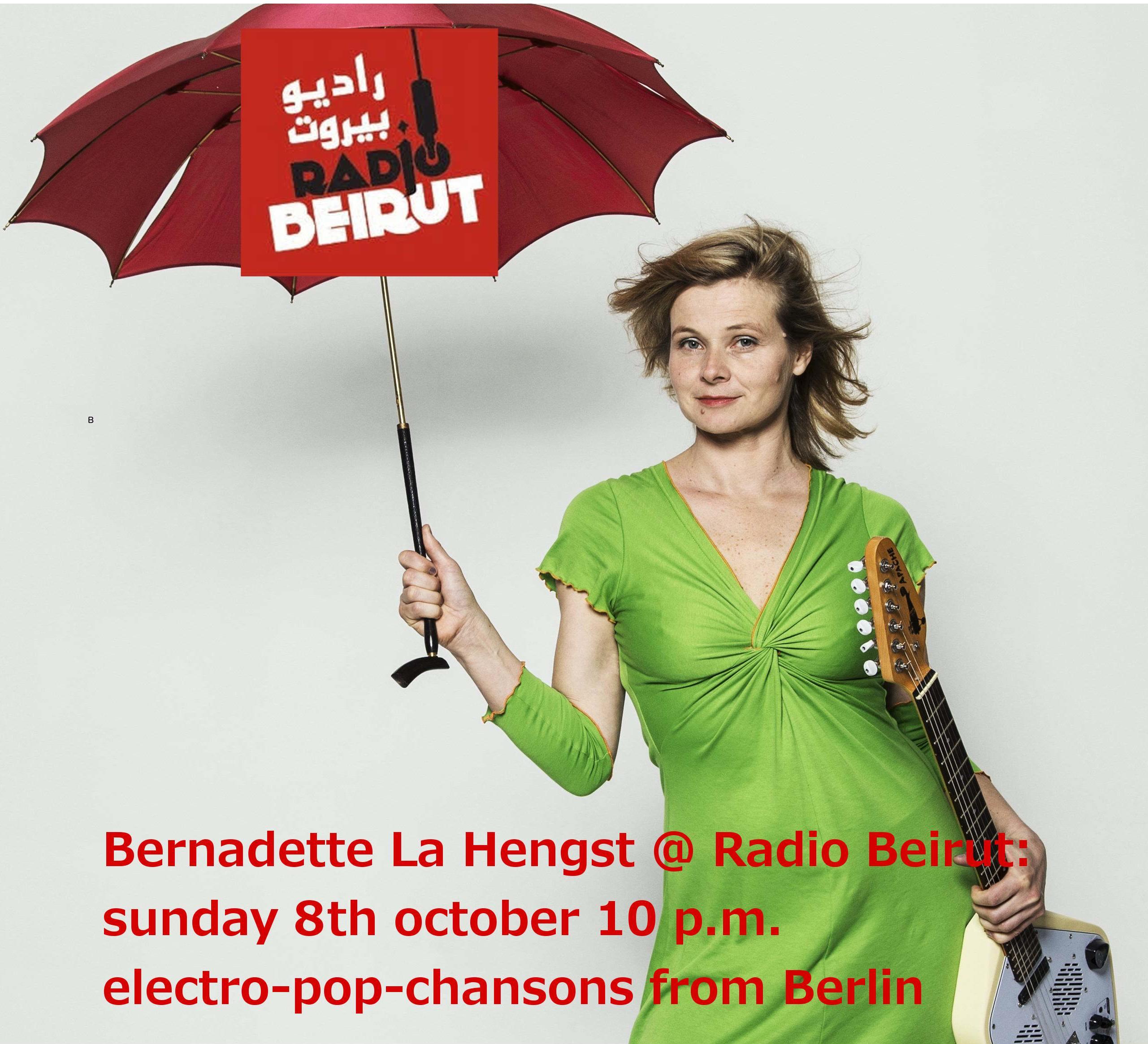 Bernadette @ Radio Beirut